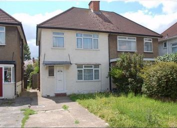 Thumbnail 3 bed semi-detached house to rent in Victoria Gardens, Hounslow, Middlesex