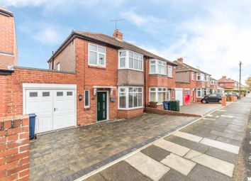 Thumbnail 3 bed semi-detached house to rent in Cleveland Gardens, High Heaton, Newcastle Upon Tyne