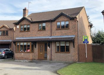 Thumbnail 5 bed detached house for sale in Lister Close, Corby, Northamptonshire