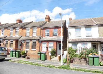 Thumbnail 3 bed terraced house for sale in Stuart Road, Folkestone, Kent