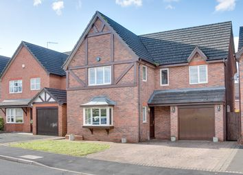 Thumbnail 5 bed detached house for sale in Mallow Drive, Woodland Grange, Bromsgrove