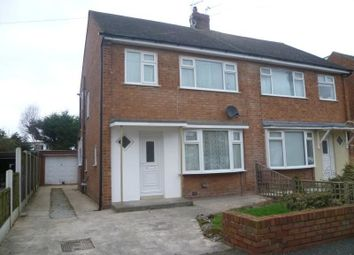 Thumbnail 3 bed semi-detached house to rent in Raybourne Avenue, Poulton-Le-Fylde
