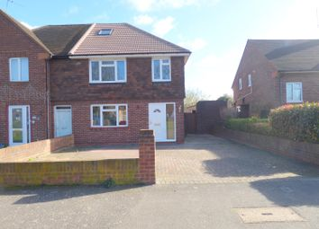 Thumbnail 3 bed end terrace house for sale in Convent Road, Ashford
