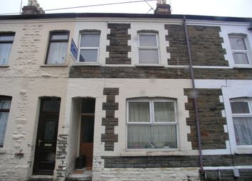 Thumbnail 3 bed terraced house to rent in Gladys Street, Cathays, Cardiff