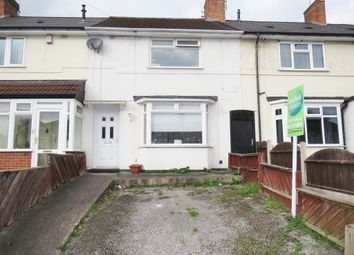 Thumbnail 3 bed terraced house for sale in Downside Road, Erdington, Birmingham
