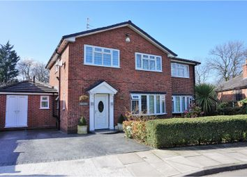 Thumbnail 5 bed detached house for sale in Glenart, Manchester