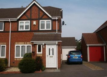 Thumbnail 3 bed semi-detached house to rent in Belfry Close, Elstow