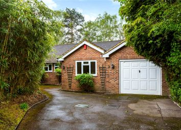 Thumbnail 3 bedroom detached bungalow for sale in Cranmer Close, Weybridge, Surrey
