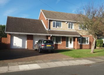 Thumbnail 4 bed detached house to rent in Nutwell Close, Bessacarr, Doncaster