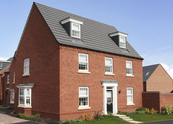 "Thumbnail 5 bed detached house for sale in ""Maddoc"" at Bush Heath Lane, Harbury, Leamington Spa"