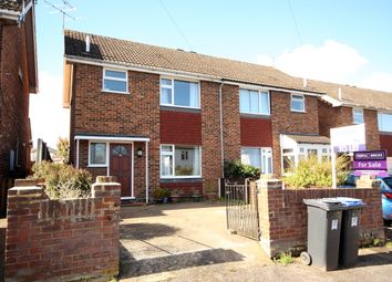Thumbnail 3 bed semi-detached house to rent in Robin Hood Road, Knaphill, Woking