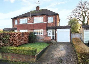 Thumbnail 3 bed semi-detached house for sale in Woods Hill Close, Ashurst Wood, West Sussex