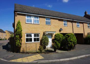 Thumbnail 4 bedroom link-detached house to rent in Leaf Avenue, Hampton Hargate, Peterborough