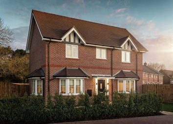 """Thumbnail 3 bedroom detached house for sale in """"The Loxwood"""" at Amlets Lane, Cranleigh"""
