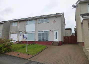 Thumbnail 2 bedroom semi-detached house for sale in Earlston Crescent, Coatbridge