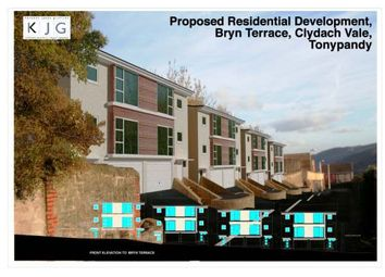 Thumbnail Land for sale in Land With Planning Permission, Bryn Terrace, Clydach Vale, Tonypandy