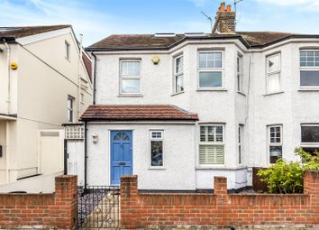 Thumbnail 4 bed semi-detached house for sale in Marksbury Avenue, Kew, Richmond