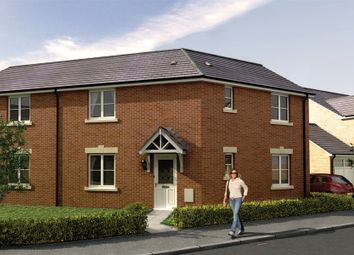 Thumbnail 3 bed semi-detached house for sale in The Ewenny 2, Cae Sant Barrwg, Pandy Road, Bedwas