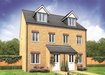 "Thumbnail 3 bed semi-detached house for sale in ""The Souter"" at Derwen View, Brackla, Bridgend"
