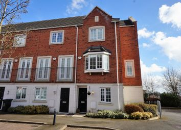 Thumbnail 4 bedroom end terrace house for sale in Donnington Court, Dudley