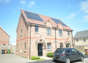 Thumbnail 2 bed semi-detached house for sale in Wentworth Drive, Priors Hall Park, Corby