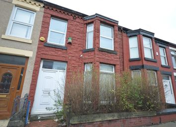 Thumbnail 3 bed terraced house for sale in Gainsborough Road, Wavertree, Liverpool