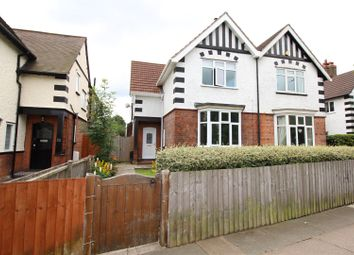 Thumbnail 4 bed semi-detached house for sale in Weelsby Road, Grimsby, N E Lincolnshire