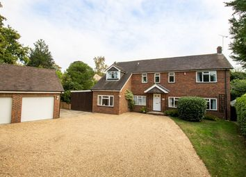 Thumbnail 5 bed detached house for sale in Gables Road, Church Crookham