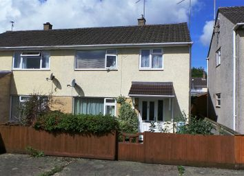 Thumbnail 3 bed semi-detached house for sale in Cranwell Close, Chippenham