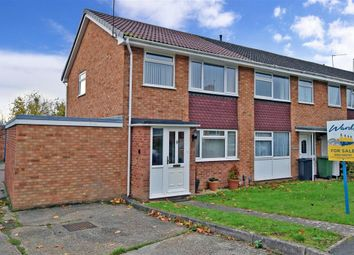 Thumbnail 3 bed end terrace house for sale in Northfleet Close, Maidstone, Kent