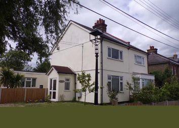 Thumbnail 2 bed semi-detached house for sale in Vange Park Road, Vange, Basildon