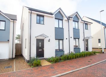 Thumbnail 3 bed semi-detached house for sale in Ravenglass Close, Plymouth