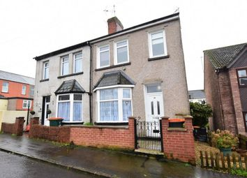 Thumbnail 3 bed semi-detached house for sale in Oak Street, Newport