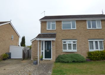 Thumbnail 3 bedroom semi-detached house for sale in Scarlin Road, Bury St. Edmunds