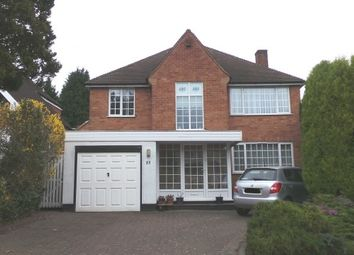 Thumbnail 4 bed detached house for sale in Kempson Avenue, Wylde Green, Sutton Coldfield