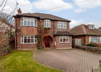 Thumbnail 4 bed detached house to rent in Grove Way, Esher