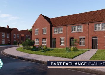Thumbnail 2 bedroom terraced house for sale in The Silka - Plot 37, The Rise, Halloughton Road, Southwell