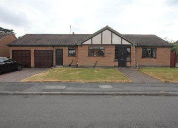 Thumbnail 2 bed detached bungalow for sale in Lychgate Close, Burbage, Hinckley