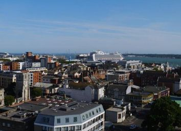 Thumbnail 2 bed flat for sale in Castle Way, Southampton, Hampshire