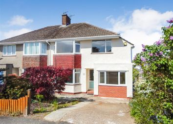 Thumbnail 3 bed semi-detached house for sale in Clyne Crescent, Mayals, Swansea