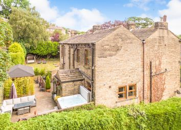 Thumbnail 6 bedroom detached house for sale in Burnlee Road, Holmfirth