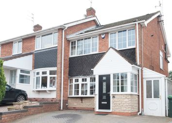 Thumbnail 4 bed end terrace house for sale in Ingestre Drive, Great Barr, Birmingham