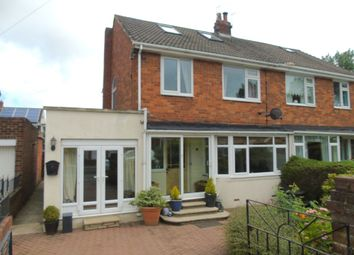 Thumbnail 4 bed semi-detached house for sale in Broom Close, Morpeth