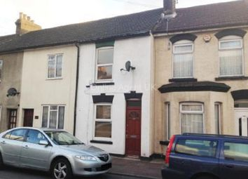 Thumbnail 3 bed terraced house to rent in Thorold Road, Chatham, Kent.