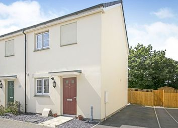 Thumbnail 2 bed semi-detached house for sale in Rosevine Way, Camborne