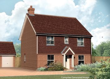 Thumbnail 4 bed detached house for sale in Stockett Lane, Coxheath, Maidstone