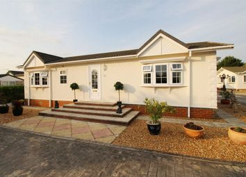 Thumbnail 2 bed mobile/park home for sale in Pine Hill Park, Sawtry Way, Wyton, Huntingdon