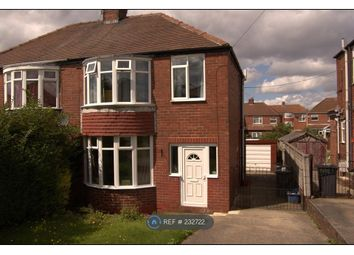 Thumbnail 3 bed semi-detached house to rent in Reresby Crescent, Rotherham