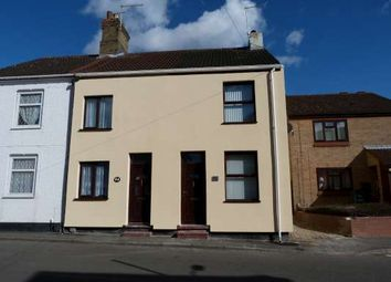 Thumbnail 2 bed end terrace house to rent in Church Street, Stanground, Peterborough