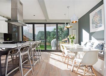 Thumbnail 4 bedroom terraced house for sale in Brockwell Park Gardens, London